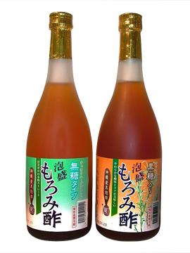 長寿 沖縄 天然クエン酸の『泡盛もろみ酢』